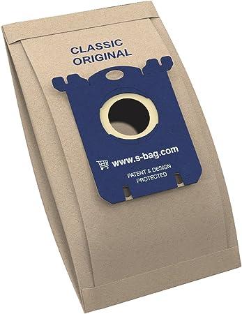 Electrolux E200B - Bolsa de Papel para Aspiradora, S-Bag Classic, 5 piezas: Amazon.es: Hogar