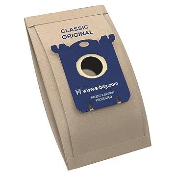 Electrolux E200B - Bolsa de Papel para Aspiradora, S-Bag Classic, 5 piezas