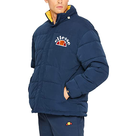 12eaa03f ellesse Men Lightweight Jackets Esperia Blue L: Amazon.co.uk: Clothing