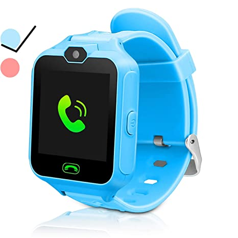 ZOPPRI Kid Smartwatches Kids Phone Watch Girls Boys Birthday Gift for 3-15 Years Old, Touch Screen with Camera and Many Clock Interface, Alarm ...