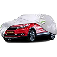 $38 » Bliifuu Car Cover,SUV Protection Cover Breathable Outdoor Indoor for All Season All Weather…
