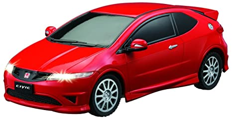 Auldey - Honda Civic 1:16 ScaleTyper Coches (Rojo)