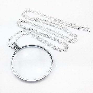 Amazon com: Aon-MX 5X Magnifying Glass Mini Portable