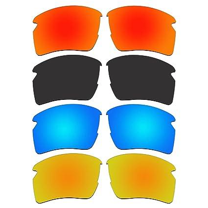 Amazon.com: 4 par de lentes polarizadas para Oakley Flak 2.0 ...