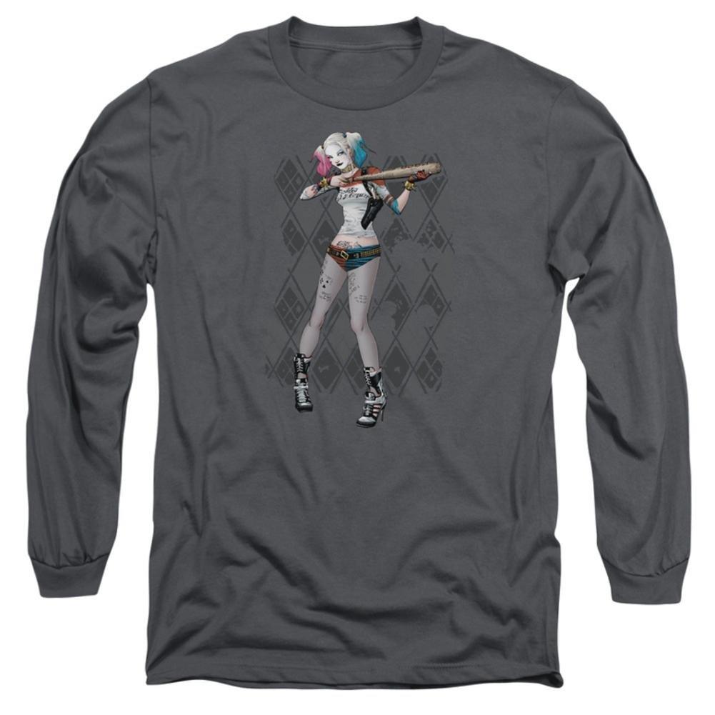 Youth T-Shirt Harley Argyle Suicide Squad