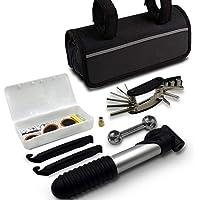 Leemoon 16-in-1 Mini Bike Repair Tool kit with Pump