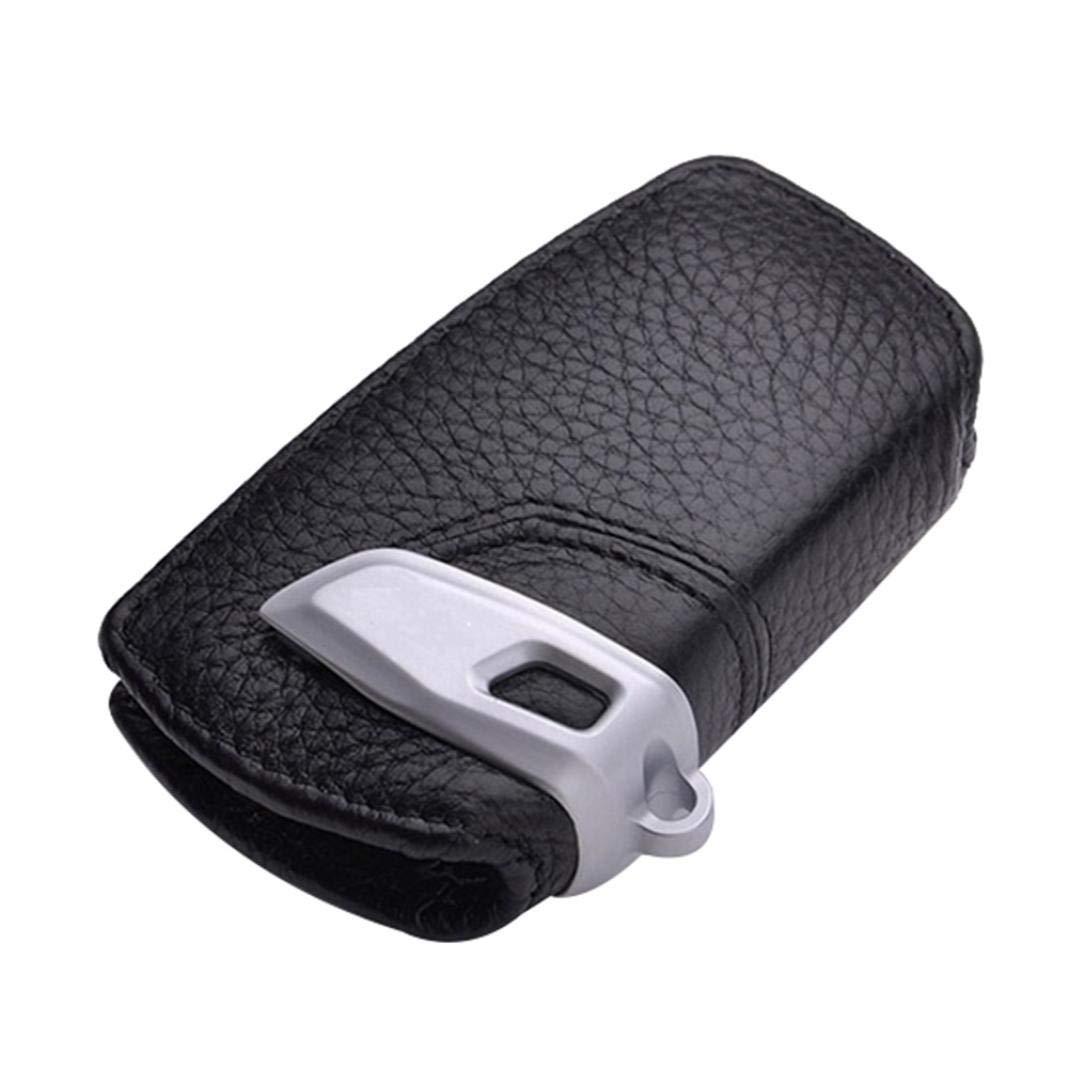 per BMW GT7 Serie 5 X3 116I 118I YSHtanj Nero in vera pelle decorazione interna colore: nero Custodia per chiave auto