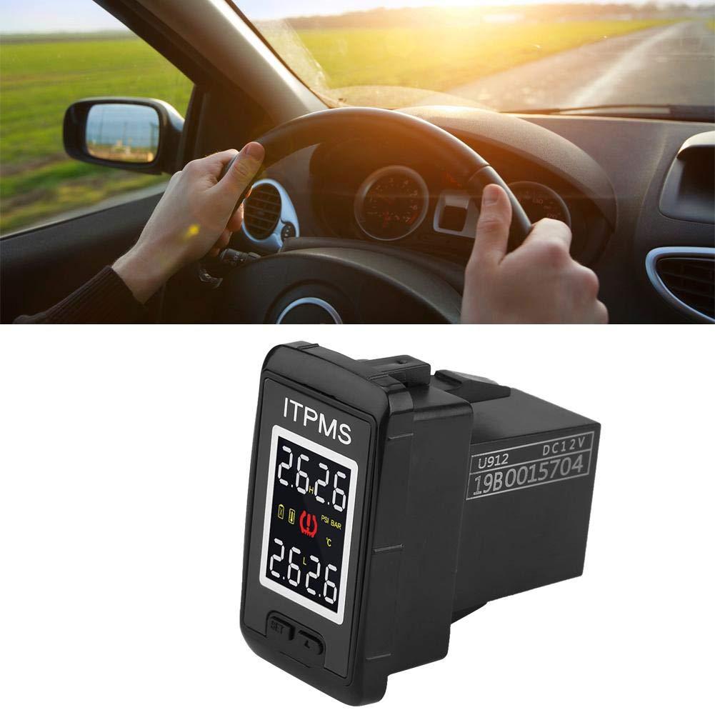 sistema de presi/ón de los neum/áticos del ABS del autom/óvil con 4 sensores externos KIMISS Monitoreo de la presi/ón de los neum/áticos