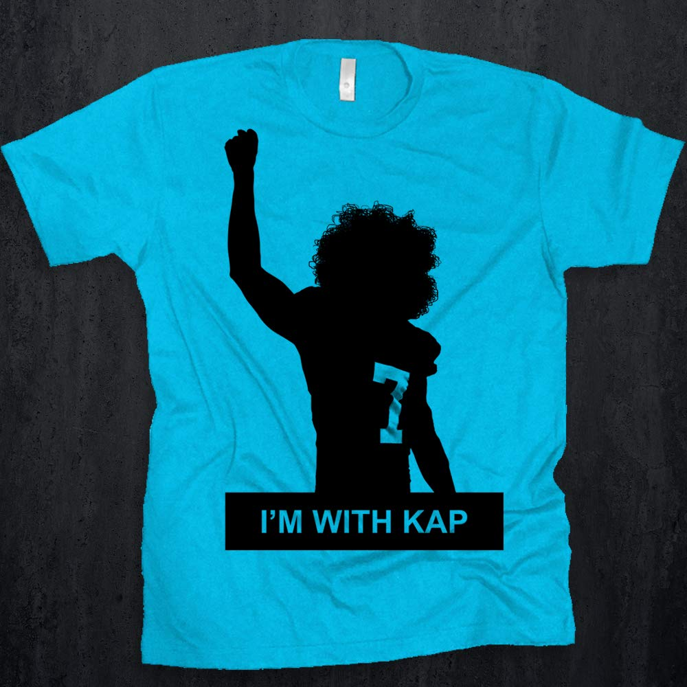 Amazon.com: Colin Kaepernick I\'m With Kap Tee IMWITHKAP Nike Ad ...