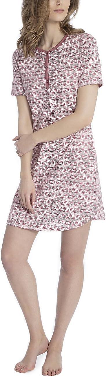 Calida Damen Enya Einteiliger Schlafanzug