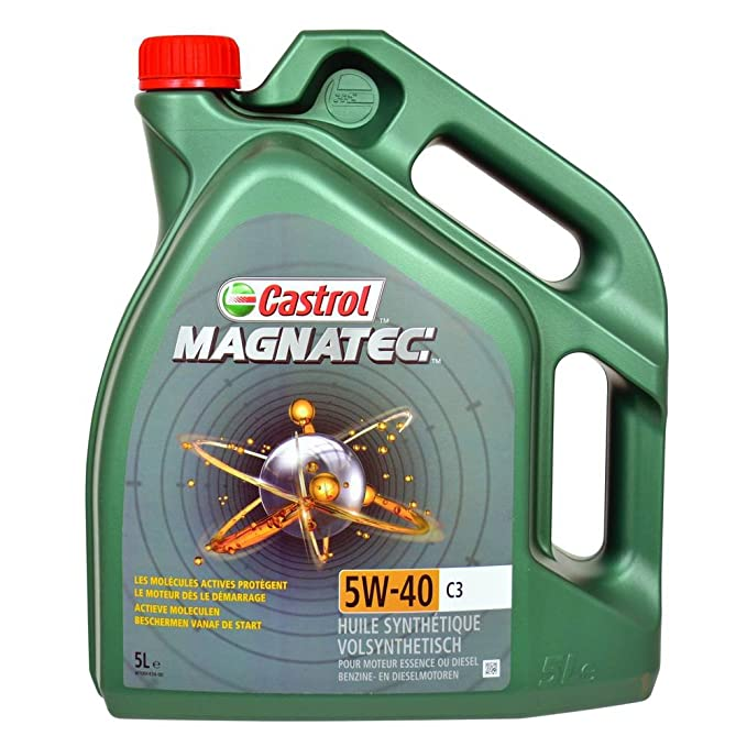 Castrol MAGNATEC Diesel Aceite de motor 5W-40 DPF 1L: Amazon.es: Coche y moto