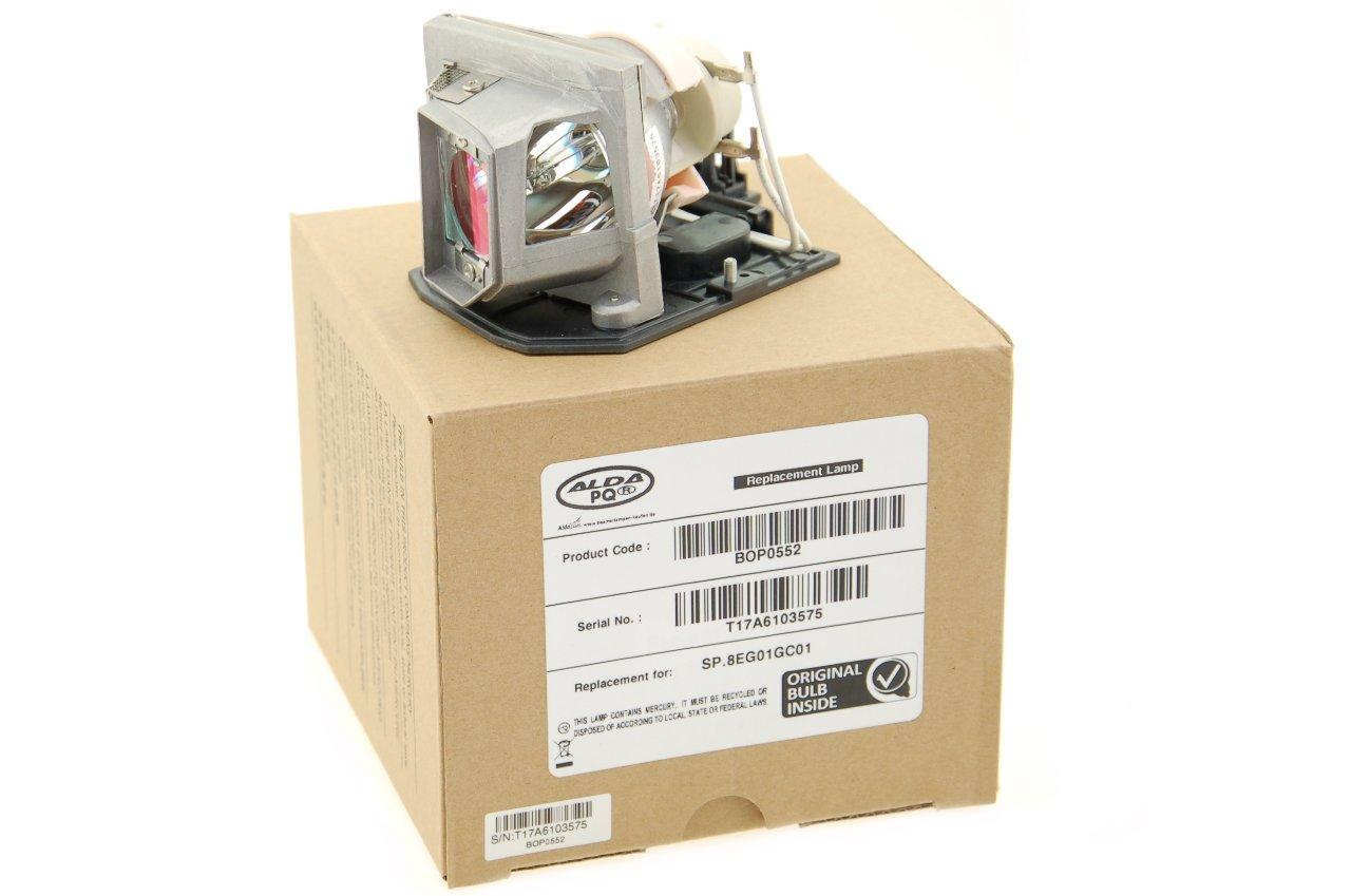 Alda PQ Original, Beamerlampe für OPTOMA GT750-XL Projektoren, Markenlampe mit PRO-G6s Gehäuse 24021