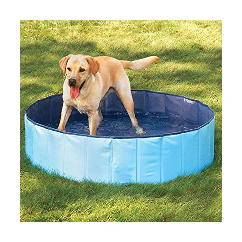 FurryFriends Foldable Dog Pool - Folding Dog / Cat Bath Tub - Collapsible Pet Spa - Large (50