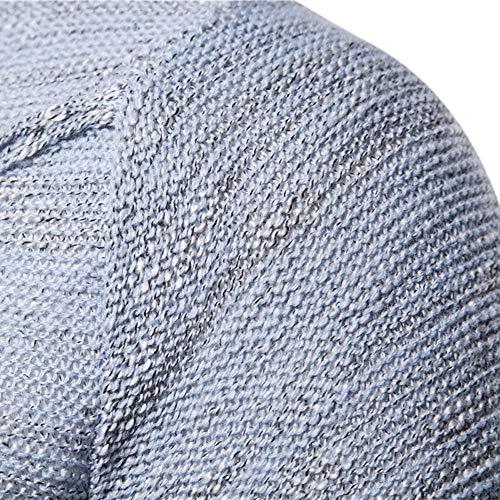 Felpe Lunghe Maniche Maglietta Jacket Uomo Felpe Top Giacca Tumbler Outwear Cappotto Grigio Uomo Elegante Shirt Uomo Coat Giacca Divertente Weant T PHgwvqUT