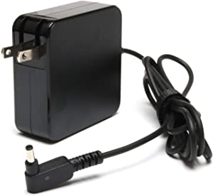 YTech 65W 19V 3.42A Laptop Charger for Asus S200 S200E Q200 Q200E Q302LA Q302UA Q503UA Q504UA X102 X200 X201 X200CA X202E X540LA X540SA F102 UX32A T300LA TP300 Asus Vivobook AC Power Adapter Cord