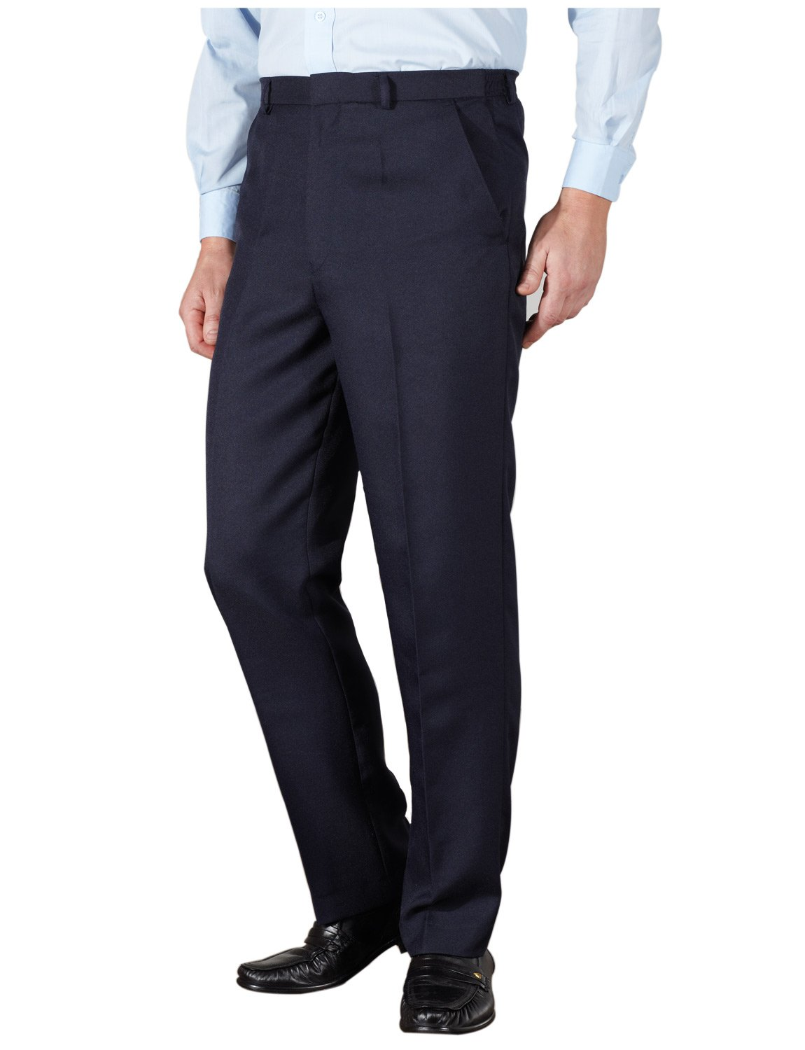 Chums Mens Quality Formal Elasticated Trousers