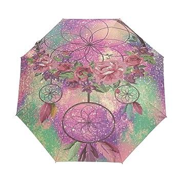 2c0fecf2f369 Amazon.com : LUCASE LEMON ALEX Flower Feather Wind Chimes Compact ...