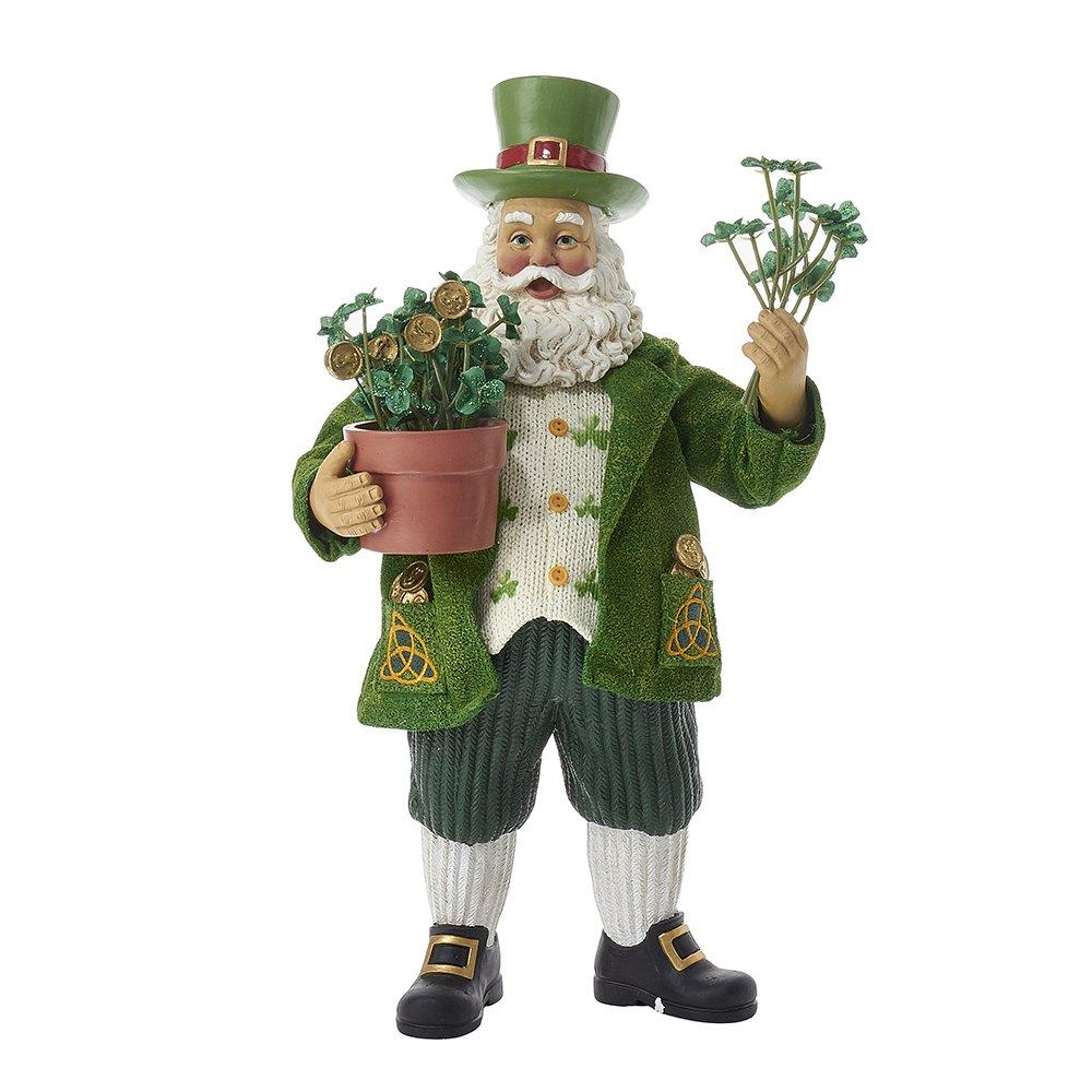 Irish Santa Claus Figurines for Christmas