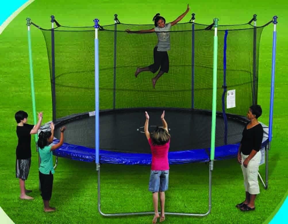 147'' Trampoline jumping mat for 14' Sportspower Model LT-6001-168 - OEM Equipment by Jump Zone