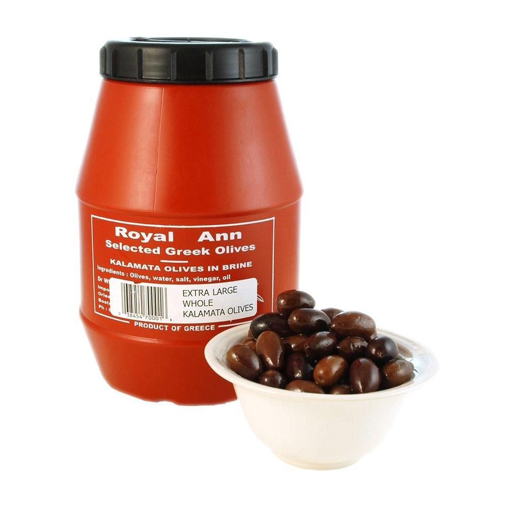 Whole Kalamata Olives Plastic Keg 2 kg nt wt ea