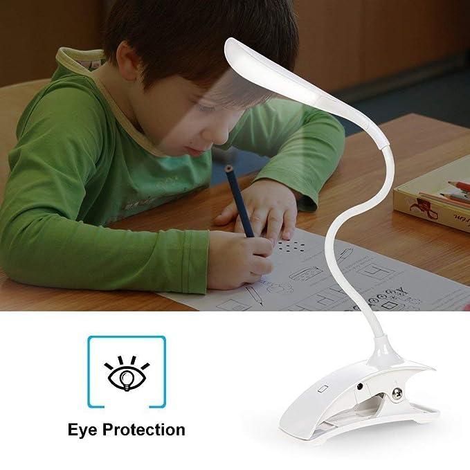 Tactile Réglable Sans Lampe Avec Fil Veilleuse Flexible Câble Micro Elinkum® Lecture Bureau Usb De Rechargeable À Pince Led sQBhCxrtdo