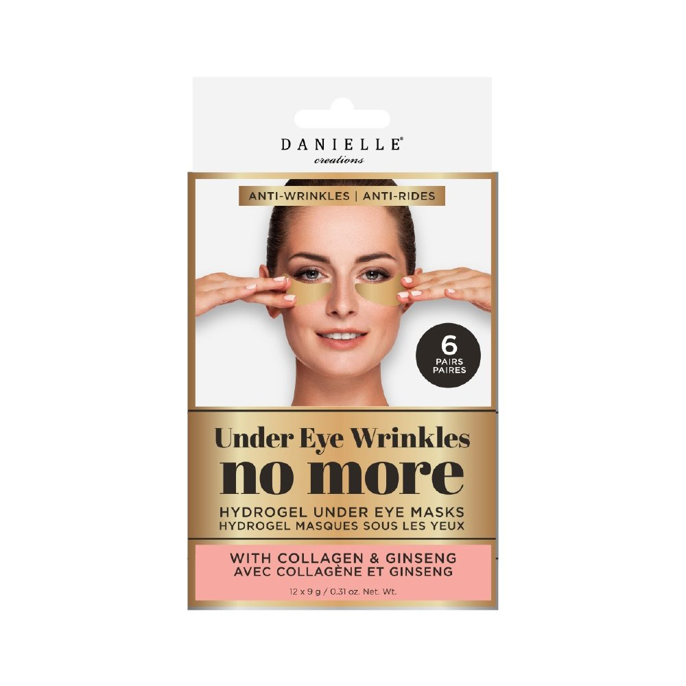 Danielle Creations Danielle Wrinkle Care Under Eye Patches, Pack of 6 D76200WC