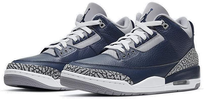 Nike Air Jordan 3 III Retro Georgetown Midnight Navy 2021 CT8532-401 US Size