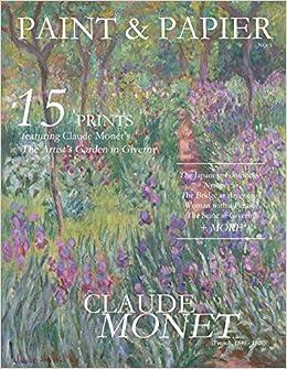 paint papier art prints claude monet the artists garden in giverny volume 1