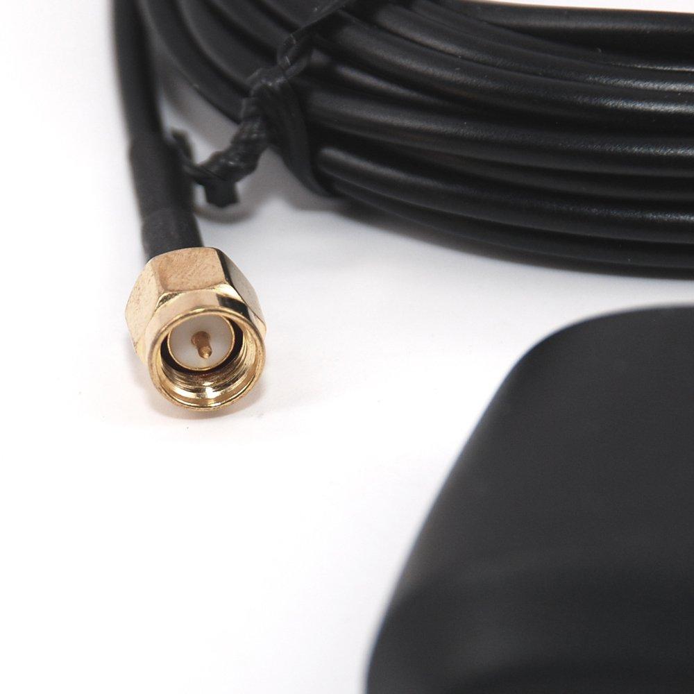 XT91821 Xtenzi Active GPS Antenna Auto Car Stereo indash Radio Compatible with Jensen Navigation Receiver