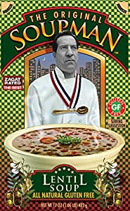 Amazon.com : The Original Soupman, Lentil Soup, 17 Ounce ...
