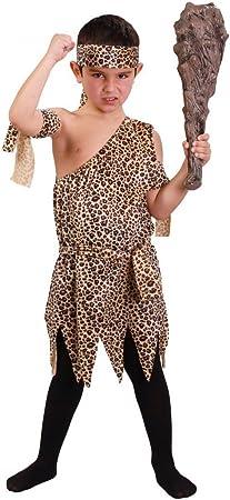 Disfraz de troglodita para niño - 10-12 años: Amazon.es: Juguetes y ...