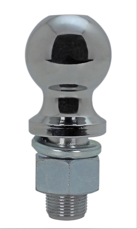 2 Chrome-3//4 Diameter 3,500 lbs. Quick Products QP-HB3007 Shank 3//4 Dia x 2 Long Hitch Ball