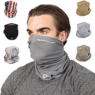 ORIGINAL BUFF® Outdoor Neck Warmer Tube Fish Run Balaclava Ski Moto Scarf Hat