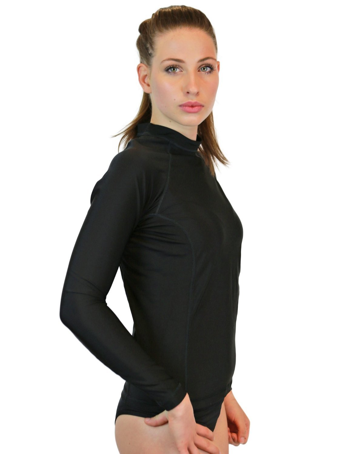 Rash Guard Women Long Sleeve - Womens Swim Shirt - MADE IN USA - ON SALE TODAY - Goddess Rash Guards Are The Ultimate Athletic Compression Shirt. Perfect for Workouts, Crossfit, Swimming, Surfing, Biking and Even Running. Some Goddess's Use Them As Swimsu