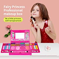 Girls Makeup Kit for Kids Washable Fashion Makeup Set Girls Play Cosmetics Set