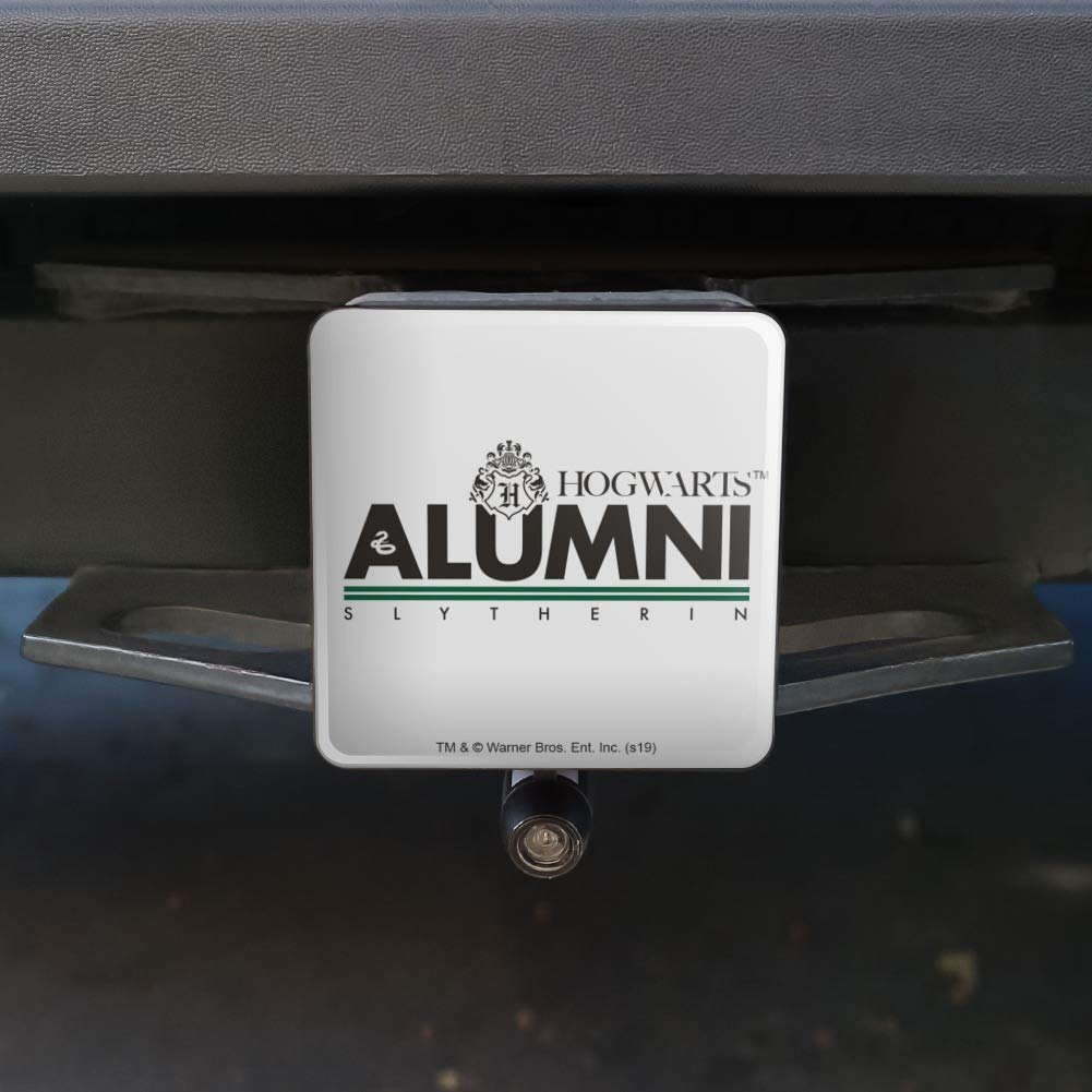 Graphics and More Harry Potter Slytherin Alumni Tow Trailer Hitch Cover Plug Insert 1 1//4 inch 1.25