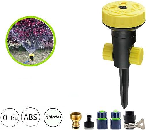Aspersores De Riego Automatico,Aspersor Flexible para Jardín,5 Patrones De Pulverización: Amazon.es: Hogar