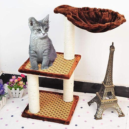 Meilandeng Árboles de Actividades para Gatos Gato Rayado Mesa ...