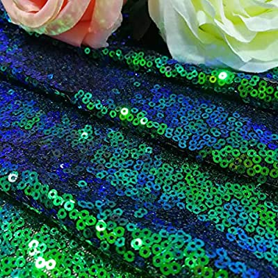 ShinyBeauty Sequin Backdrop - Backdrop Photography and Photo Booth Backdrop for wedding/Party/Photography/Curtain/Birthday/Christmas/Prom/Other Event Decor - 4FTx6FT(48inx72in)