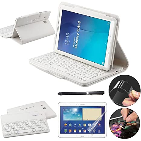 custodia samsung tab e con tastiera