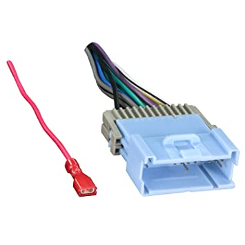 61XzTvMlR2L._SY355_ amazon com metra 70 2103 radio wiring harness for malibu equinox Wiring Harness Diagram at alyssarenee.co