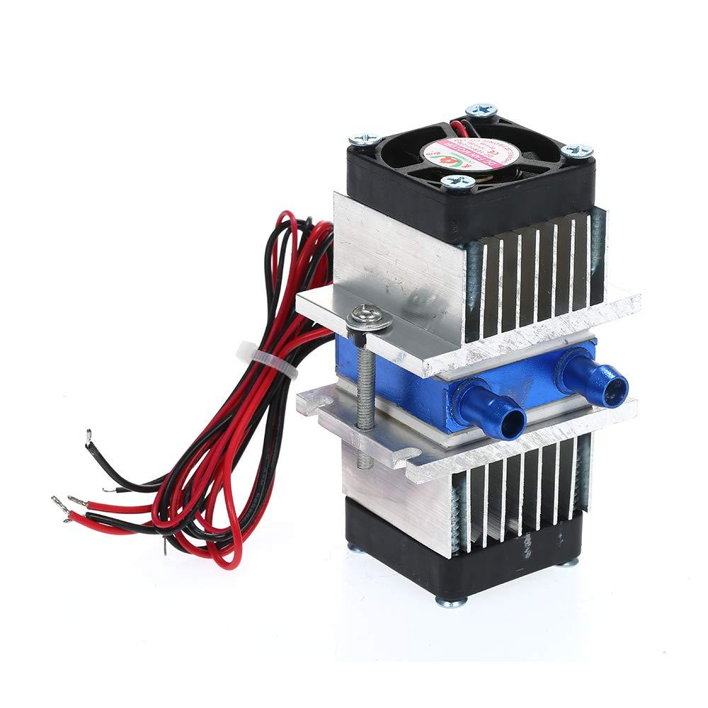 12V TEC Refrigerador termoeléctrico semiconductor electrónico ...