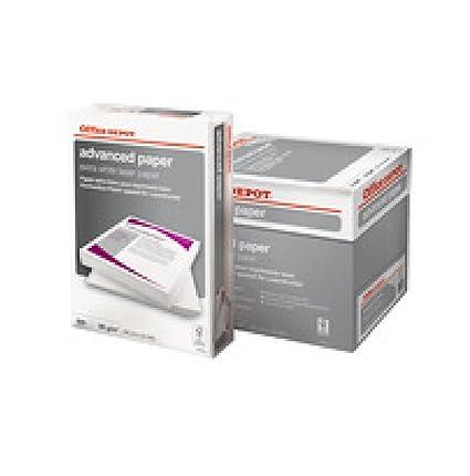 Office Depot A4 Papel de la impresora láser avanzada 90g 5 resmas ...