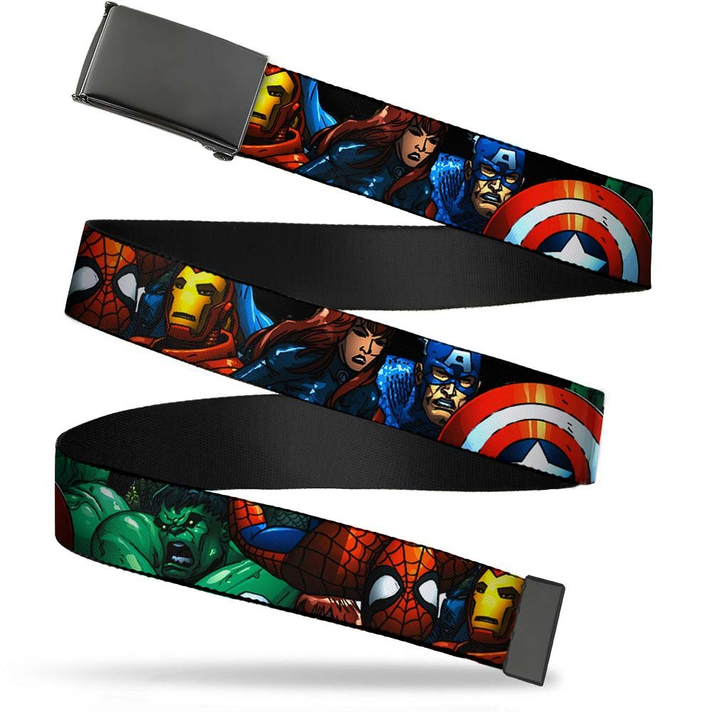 Buckle-Down Boys Big Kids Web Belt Avengers 1.0