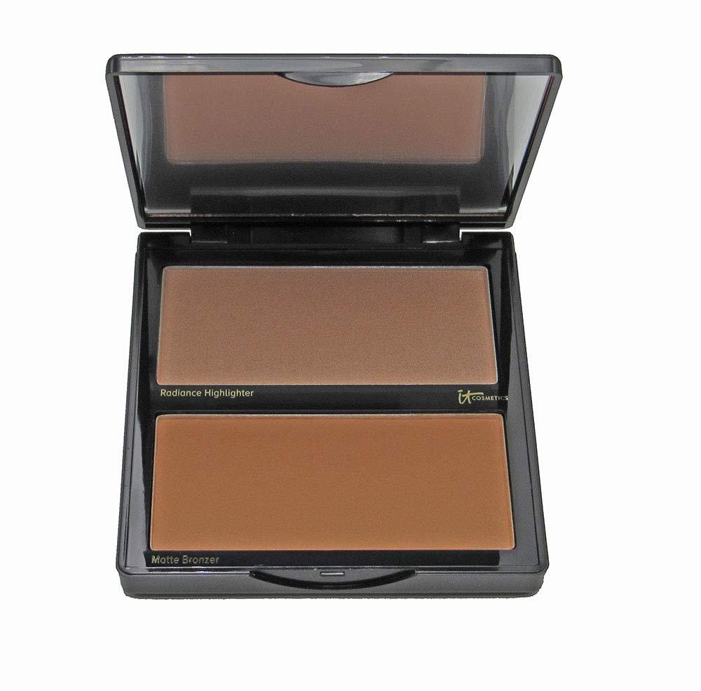 It Cosmetics Hello Cheekbones Matte Bronzer & love Highlighter Contour Duo