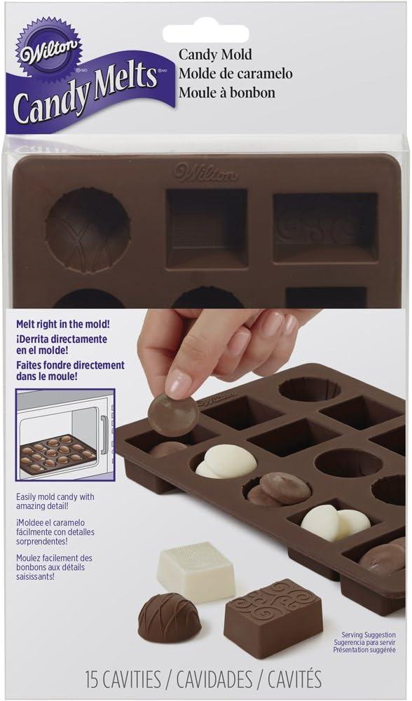 Wilton Box of Chocolates Silicone Candy Mold