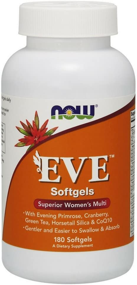 Best For 40 :NOW Supplement Women's multivitamin