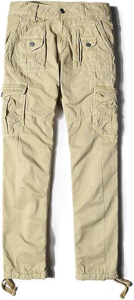 Casual Pantalones para Hombre, Morbuy Talla Grande Slim Fit ...