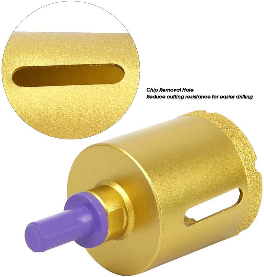 Efficiency with Screw Adapter Diamond Hole Cutter Brazing angle grinder opener 45mm