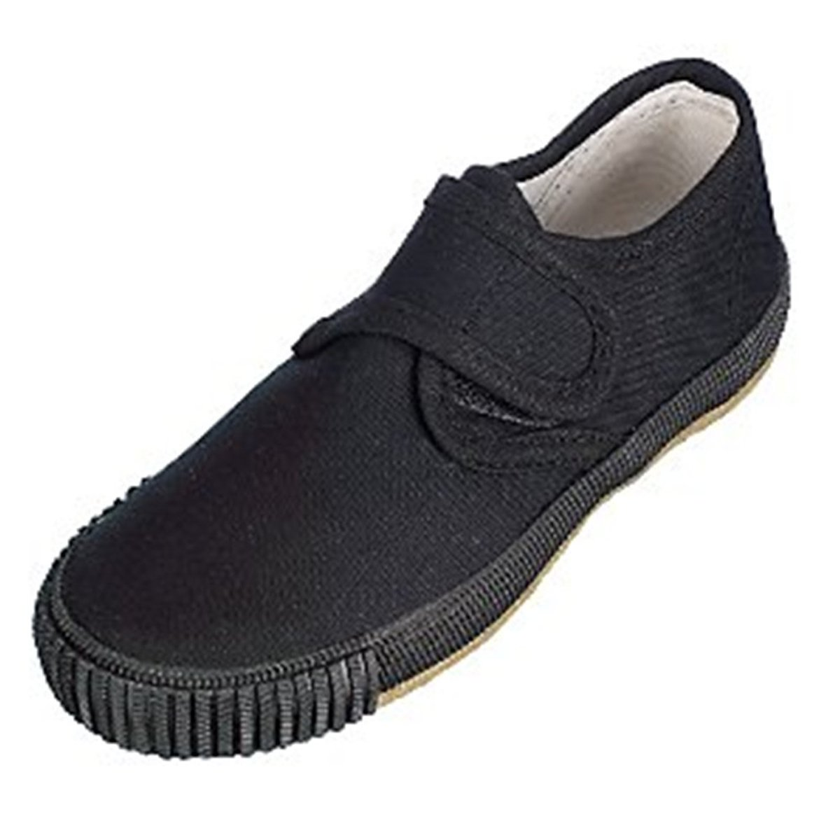 Black Velcro Plimsoll Size 10, Pack Of 2